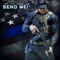 SUPPORT LAW ENFORCEMENT Thin Blue Line Family