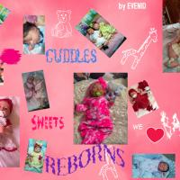 Cuddles & Sweets Babies Reborns by Evenid