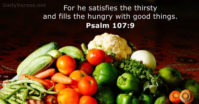Psalm 107.9