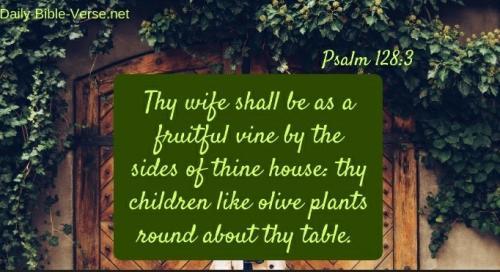 A prayer over Husbands-Psalm 128