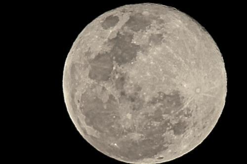 La Luna Mas cercana Feb 2019