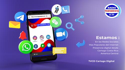 Radio Tvcartagodigital-Redes Sociales-